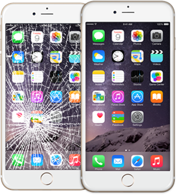 iphone6 broken glass